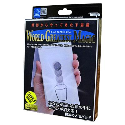 Tenyo Magic Memo Pad