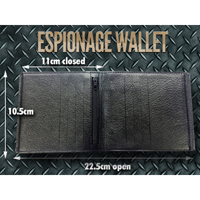 Espionage Wallet by Kieran Kirkland
