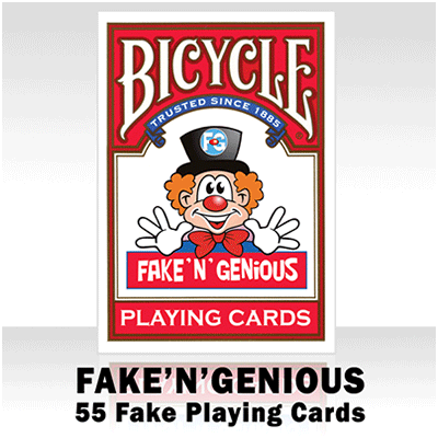 Fake 'N' Genius Deck by So Magic Evenements