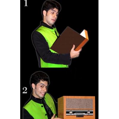 Transformation Book to Radio - Tora