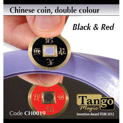 Chinese Coin Double Color By Tango Magic