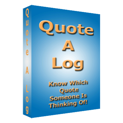 Quote a Log by Fred Morre*