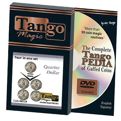 Four In One Quarter by Tango Magic