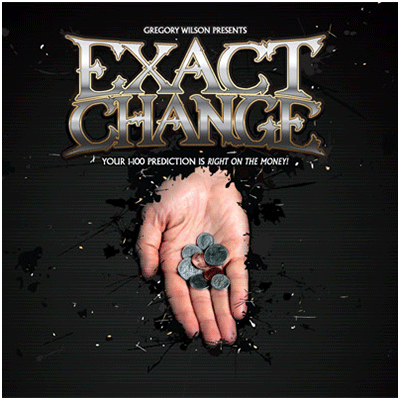 Exact Change by Gregory Wilson