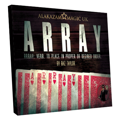Array  by Baz Taylor and Alakazam Magic