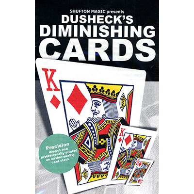 Diminishing Cards by Steve Dusheck