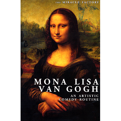 Mona Lisa Van Gogh by Miracle Factory