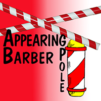 Appearing Barber Pole