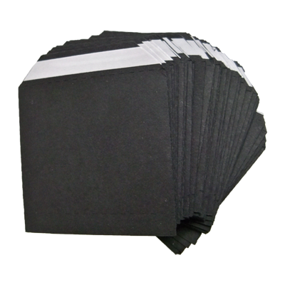 Nest of Wallets refill Envelopes 50 units (Black no Window) - Trick