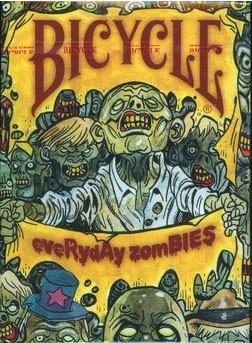 Everyday Zombie Playing Cards