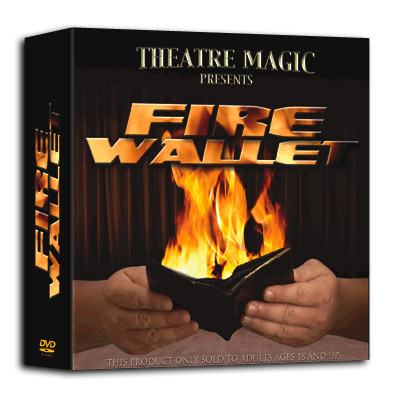 Fire Wallet by Theatre Magic