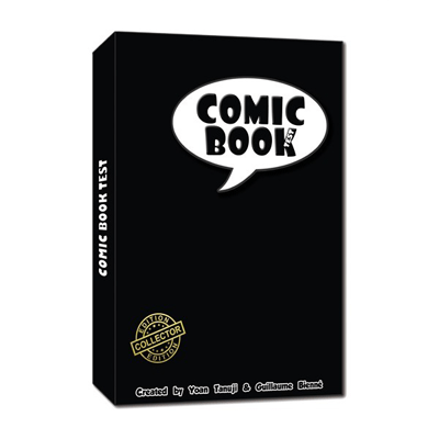 The comic book test (Hard cover) by So Magic*