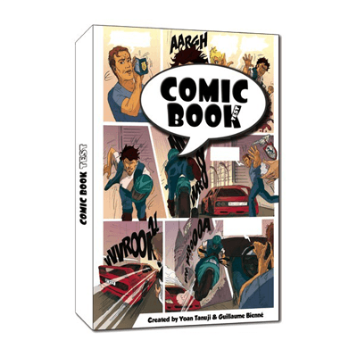 The-comic-book-test-soft-cover-by-So-Magic