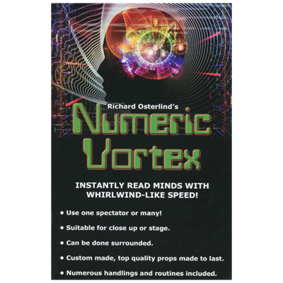 Numeric Vortex by Richard Osterlind