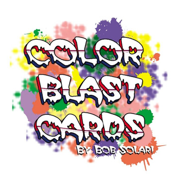 Color Blast Cards -  Bicycle - Solari