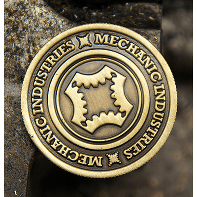 Bronze Coin by Mechanic Industries