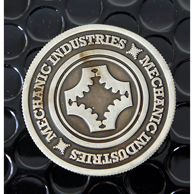 Gun Metal (Grey) Coin by Mechanic Industries