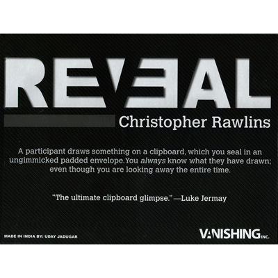 Reveal by Christopher Rawlins and Vanishing Inc