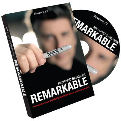Remarkable by Richard Sanders -DVD