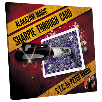 Sharpie Through Card by Alakazam Magic