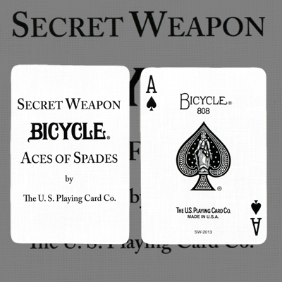 Bicycle Secret Weapon Deck by US Playing Card