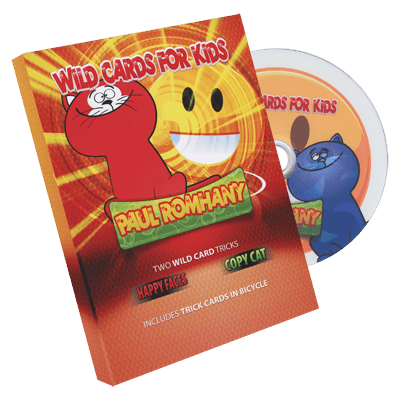 Wild Card Tricks For Kids! by Paul Romhany