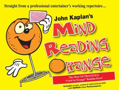 Mind Reading Orange by John Kaplan