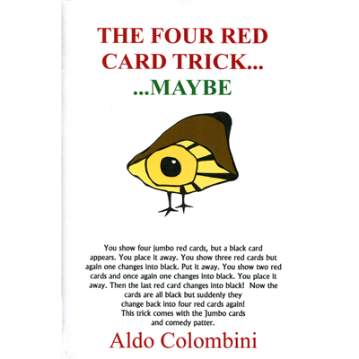 Four Red Card Trick by Wild-Colombini Magic*