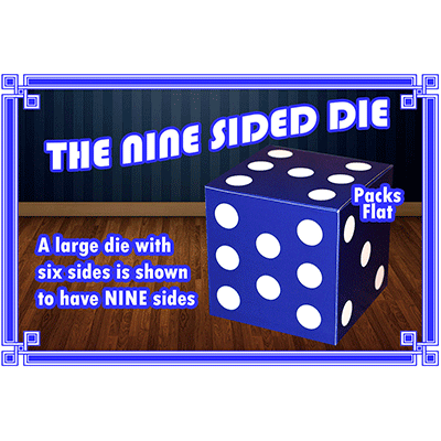 Nine Sided Die by Angelo Carbone*
