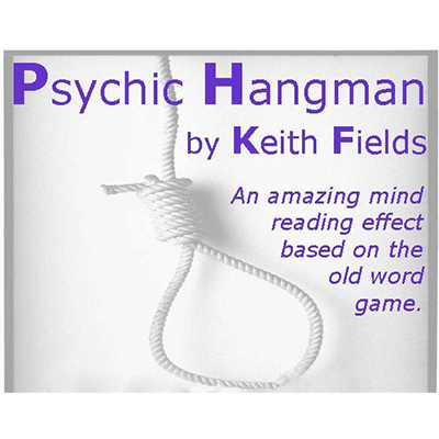 Psychic Hangman by Keith Fields