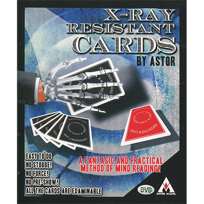 X-Ray Resistant Cards by Astor