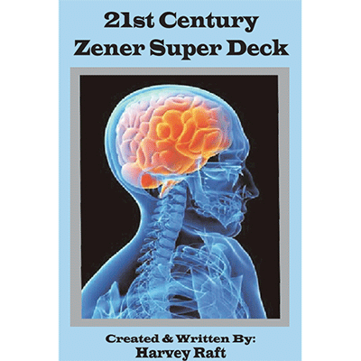 21st Century Zener Super Deck by Harvey Raft