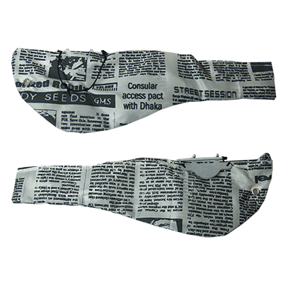 Dove Bag (Newspaper style) by Andy Amyx