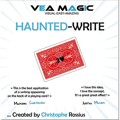 Haunted Write by Christophe Rossius