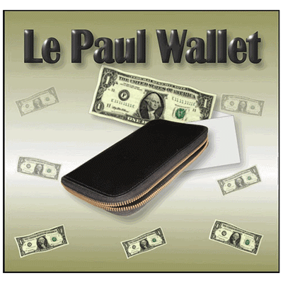 The Le Paul Wallet by Heinz Mentin