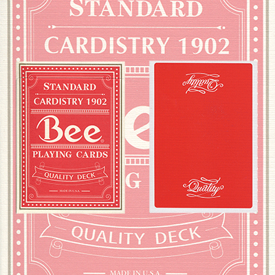 Quality-Red-Bee-(Rare/Out-of-Print)-USPCC