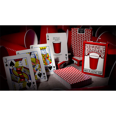 Bicycle-Red-Plastic-Cup-Deck-by-US-Playing-Card-Co
