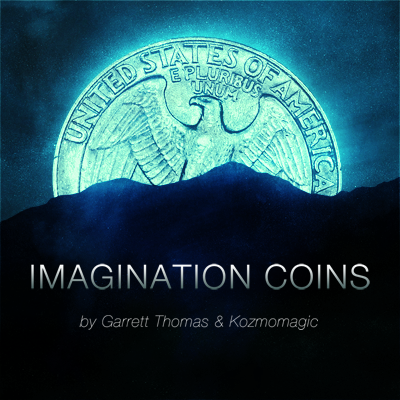Imagination Coins by Garrett Thomas and Kozmomagic