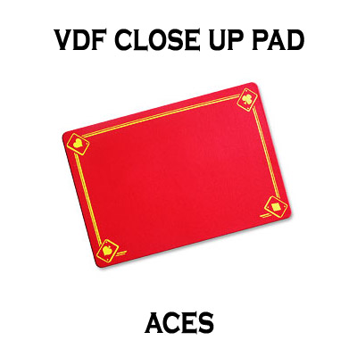 PRO VDF Close Up Pad with Printed Aces by Di Fatta - SMALL