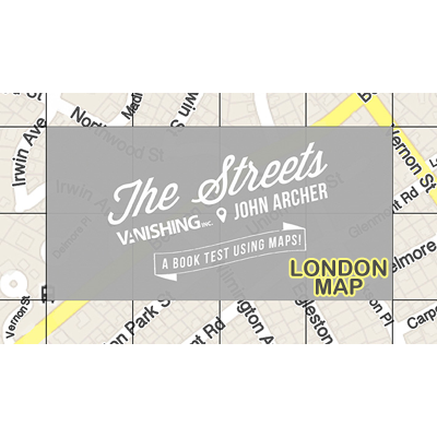 The Streets (London Map) by John Archer