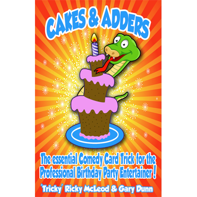 Cakes and Adders by Gary Dunn Poker Size