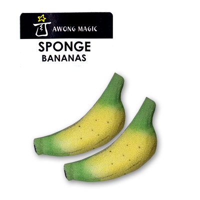 Sponge Bananas (Medium size) by Alan Wong