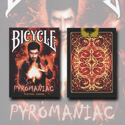 Bicycle Pyromaniac Deck by Collectable Playing Cards