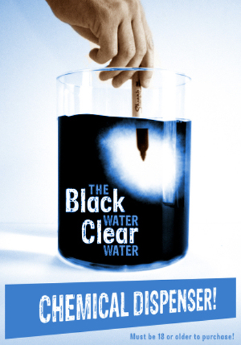 Black Water Clear Water - Dispenser