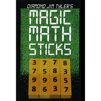 Magic Math Sticks By Diamond Jim Tyler