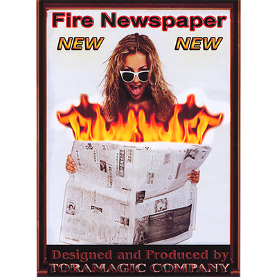 Fire-Newspaper-by-Tora-Magic