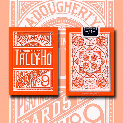 Tally Ho Reverse Fan back (Orange) Limited Edition by  Aloy Studios