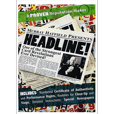 HEADLINE!  by Murray Hatfield