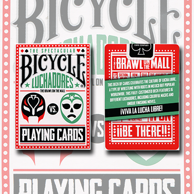 Bicycle Luchadores Deck by US Playing Card Co