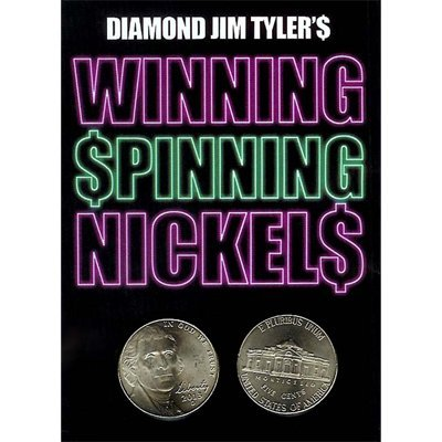 Winning Spinning Nickels (two pack) by Diamond Jim Tyler